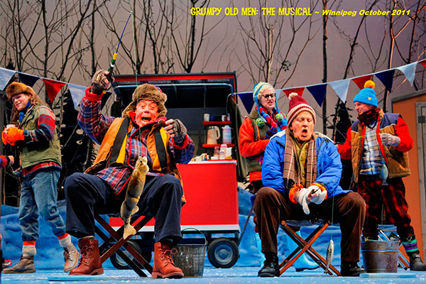 Grumpy Old Men Production Stills