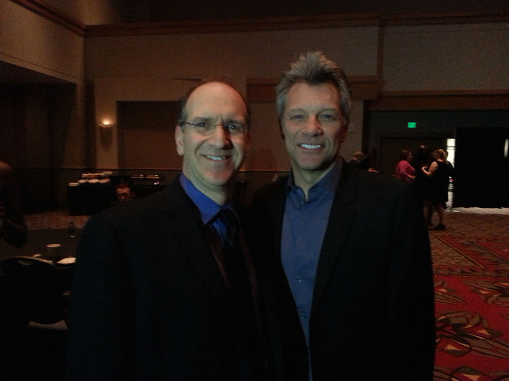 Neil Berg and Jon Bon Jovi