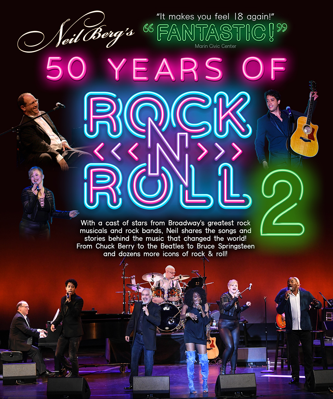 Neil Berg's 50 Years of Rock and Roll Part 2